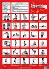 Stretching Poster